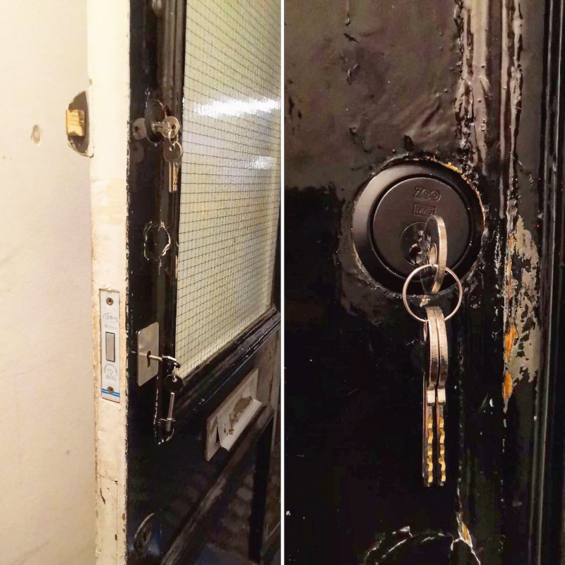 replaced a cylinder on a door in Camden Locksmith NW1