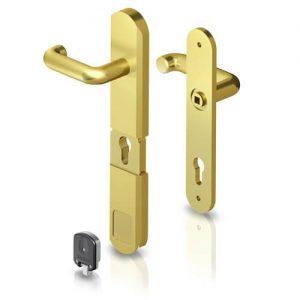 lock handle door