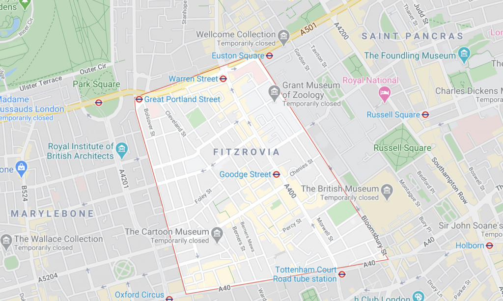 Locksmith in Fitzrovia London