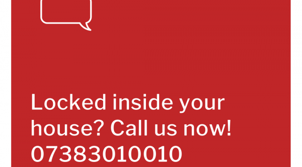 locked inside your house