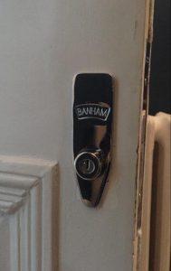 M2002 Banham BS3621 Mortice Hook Lock British Standard Insurance Approved